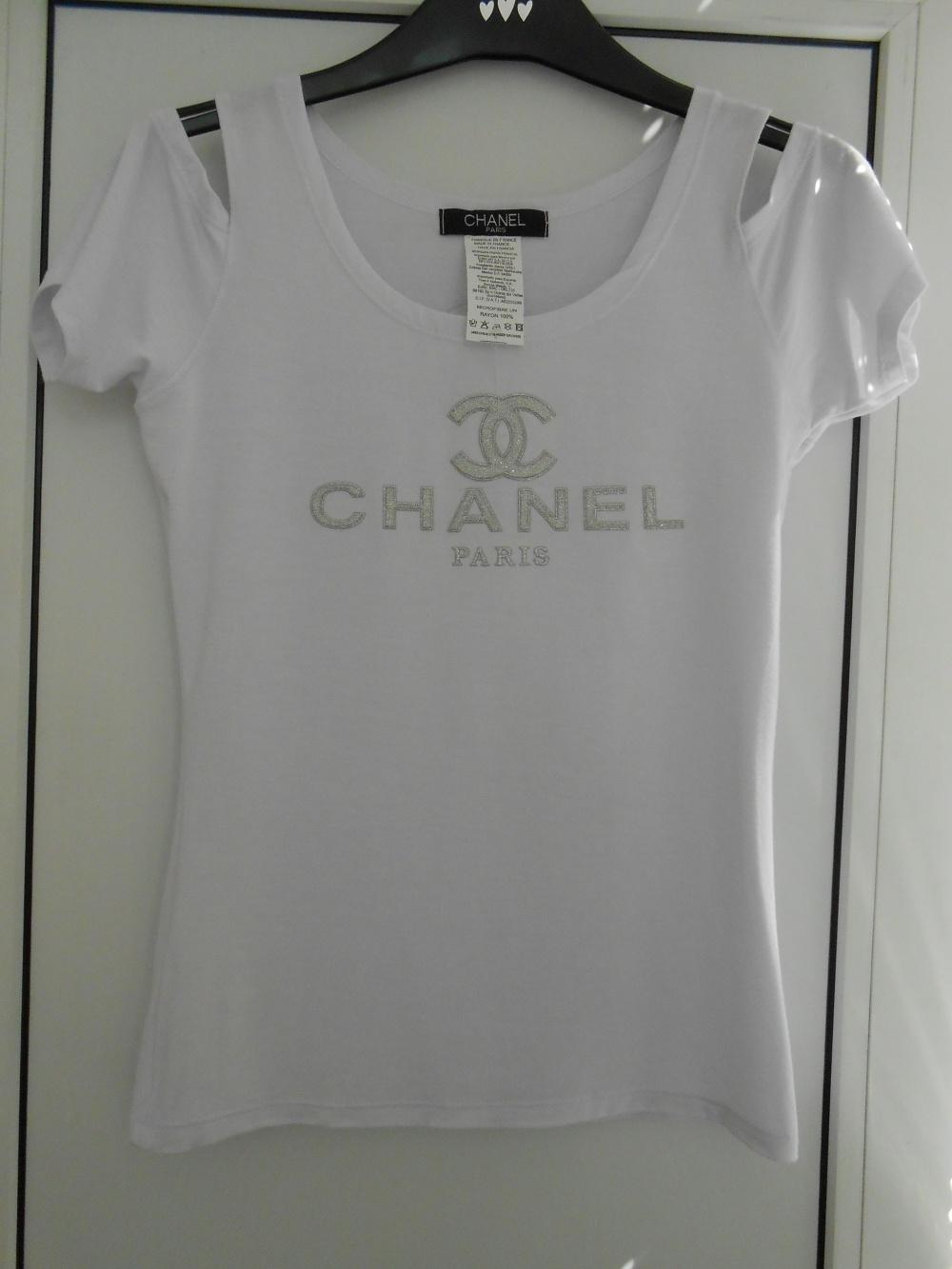 Новая футболка SHANEL  р.S