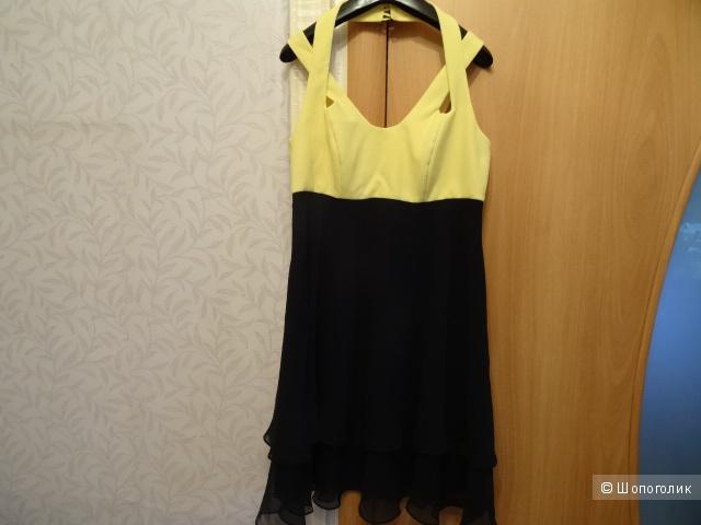"Коктейльное платье ""Angie"", размер 44-46, б/у"