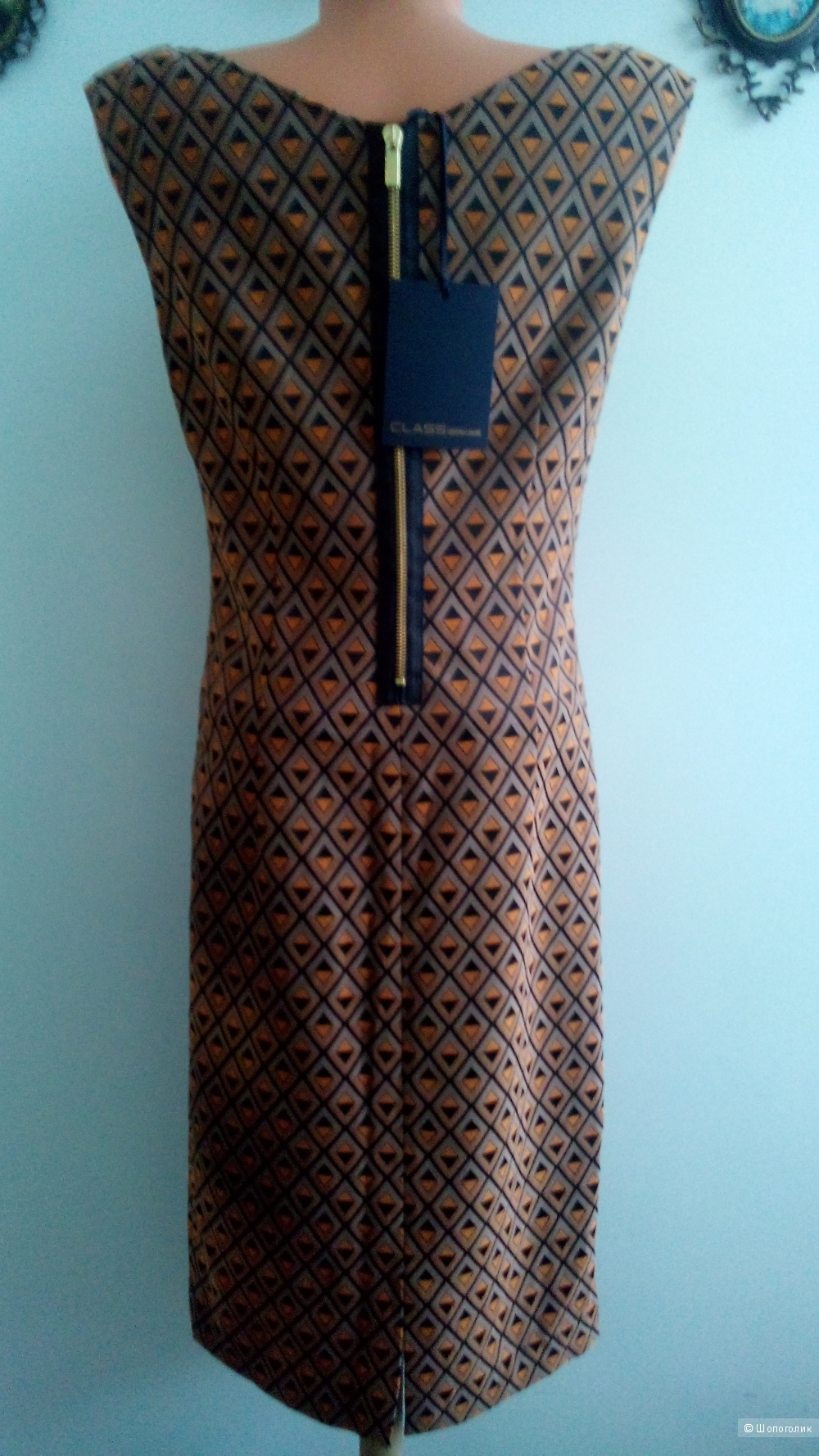Платье -футляр CLASS Roberto Cavalli размер 46 ИТ(USA12) 46-48 росс