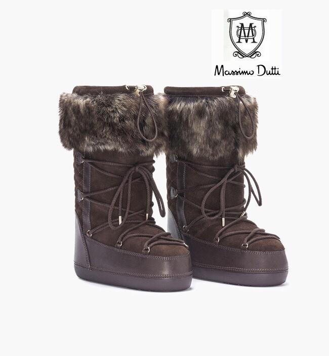 Limited Edition Massimo Dutti женские горные ботинки 38+-