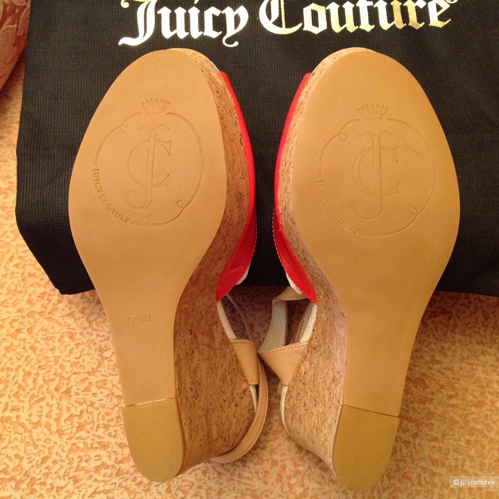 Босоножки сабо натуральная кожа Juicy Couture размер 8 1/2 М, наш 39