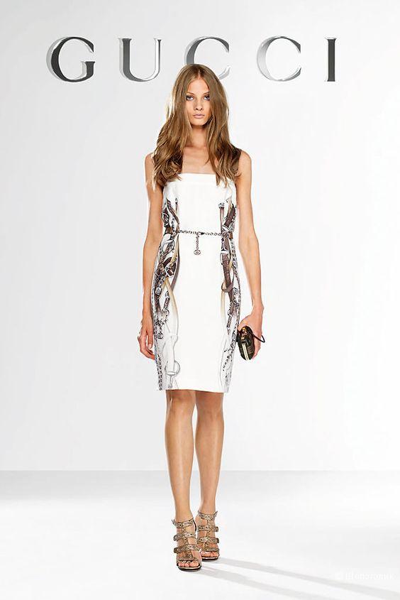 Коктейльное платье Gucci.