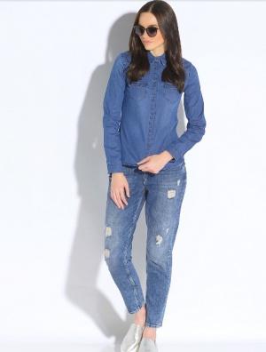 Джинсовая рубашка MEXX, 44-46 размер