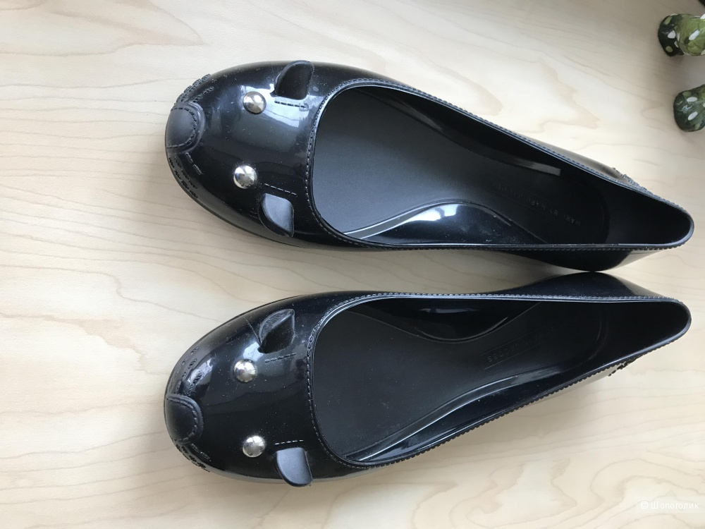 Балетки резиновые Marc Jacobs (размер 38)