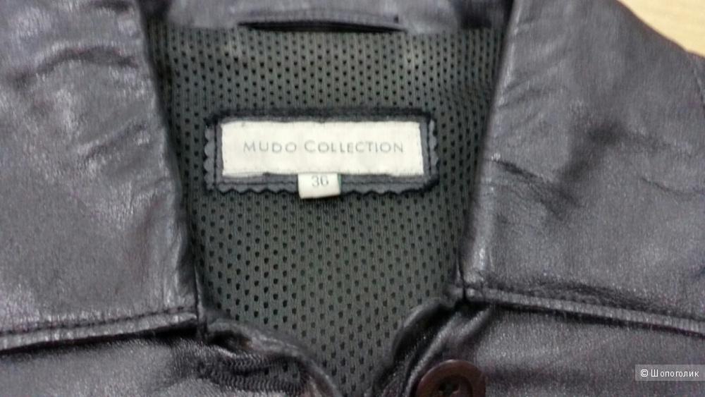 Кожаная куртка Mudo Collection 36 р-р  на 42 русс