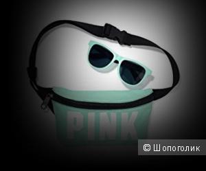 Victoria's Secret PINK солнечные очки, бирюзовые