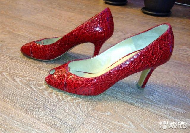Туфли Peter Kaiser, почти новые! 39 размер.