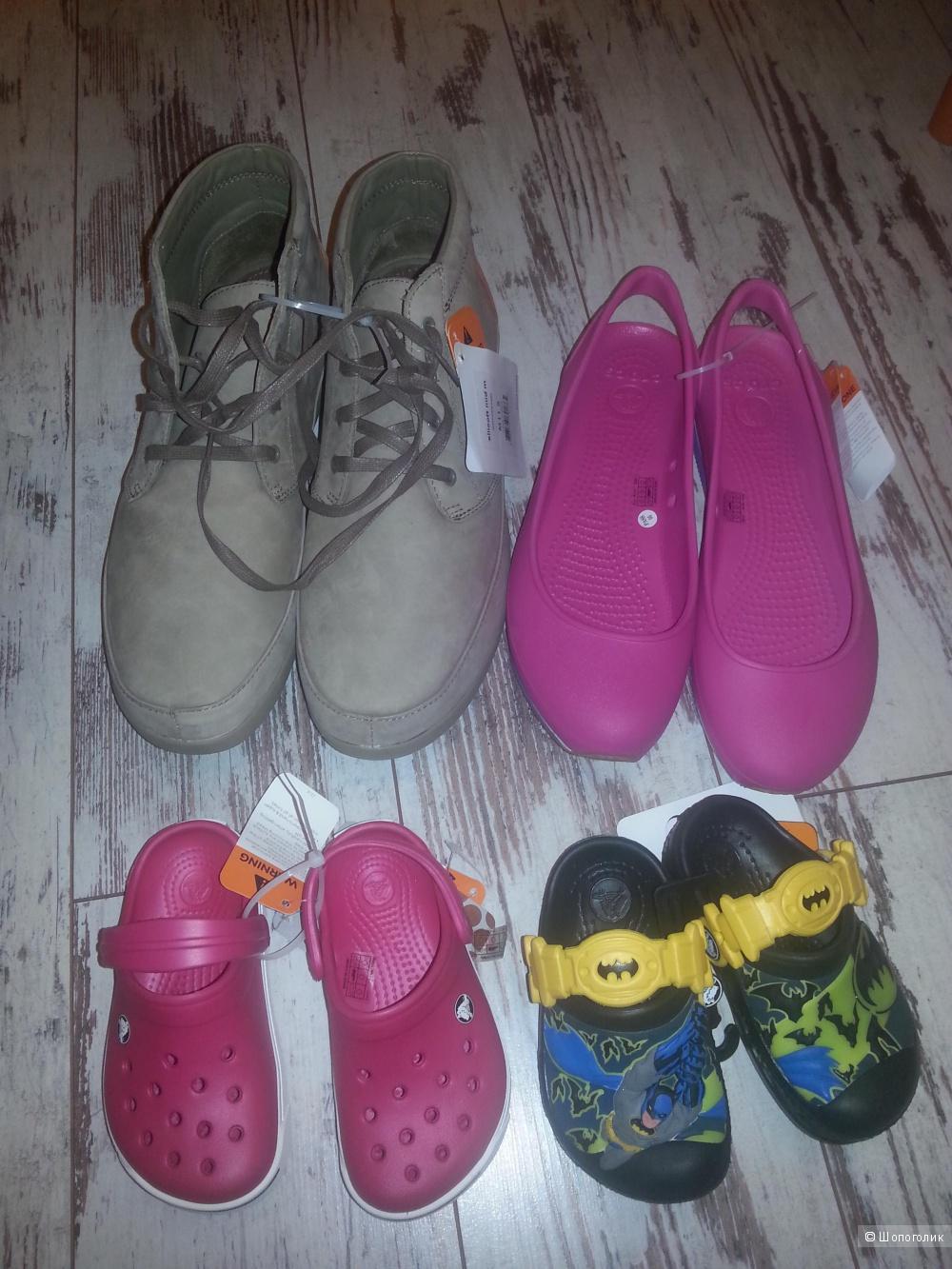 Сабо Crocband™ clog (Kids) оригинал унисекс