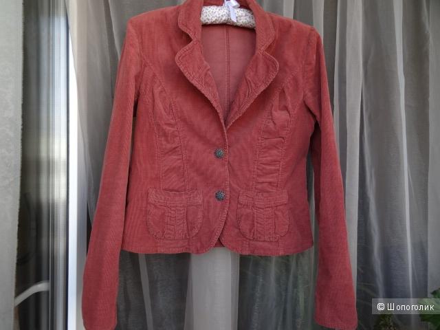 "Вельветовый пиджак ""Promod"", размер 42-44, б/у"