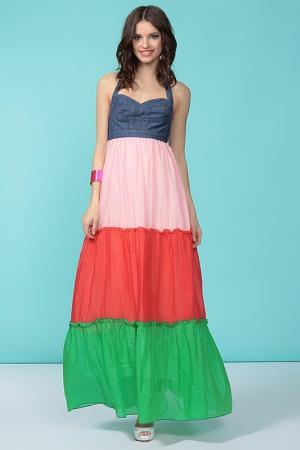 Пышное летнее платье GUILTY SAINTS, 44-46 размер