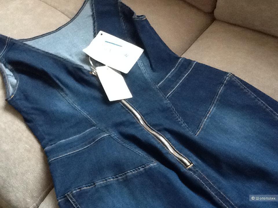 Платье джинсовое новое Италия