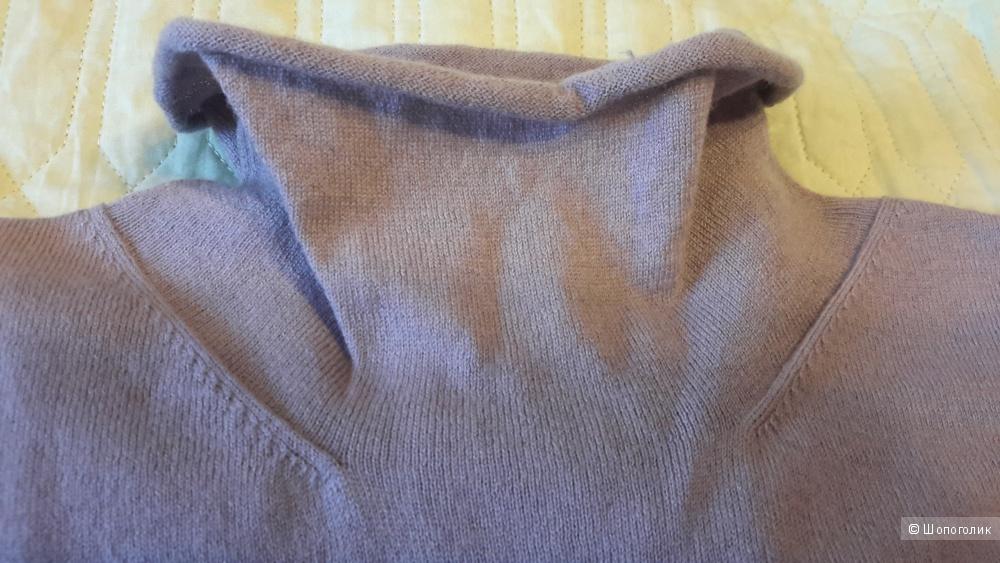 Красивая кофта шерсть/шелк Laura clement la redoute creation размер 38/40 французский на наш 44-46