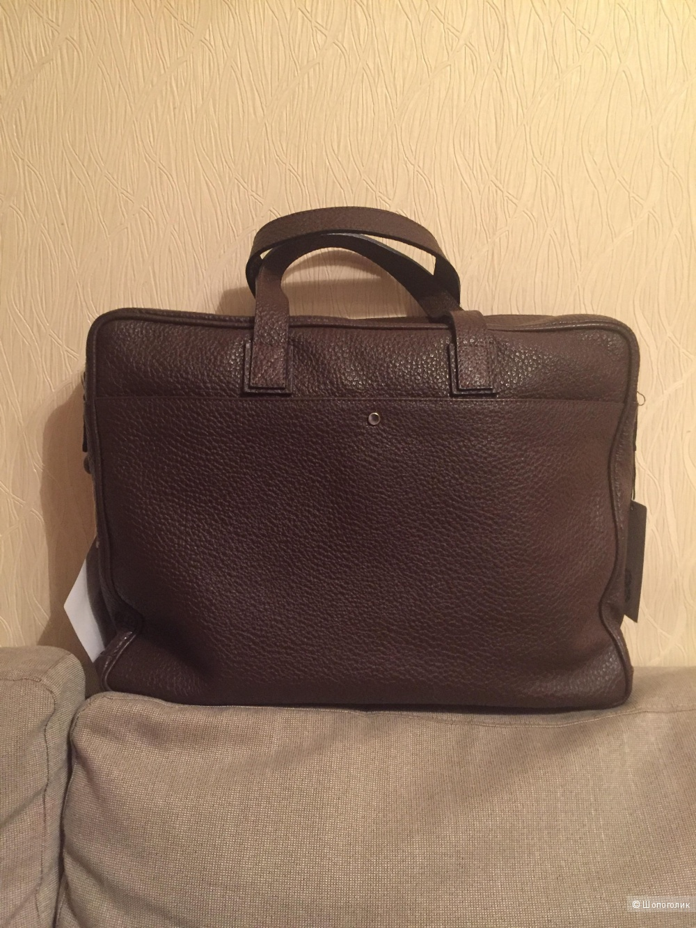Портфель мужской кожаный 8