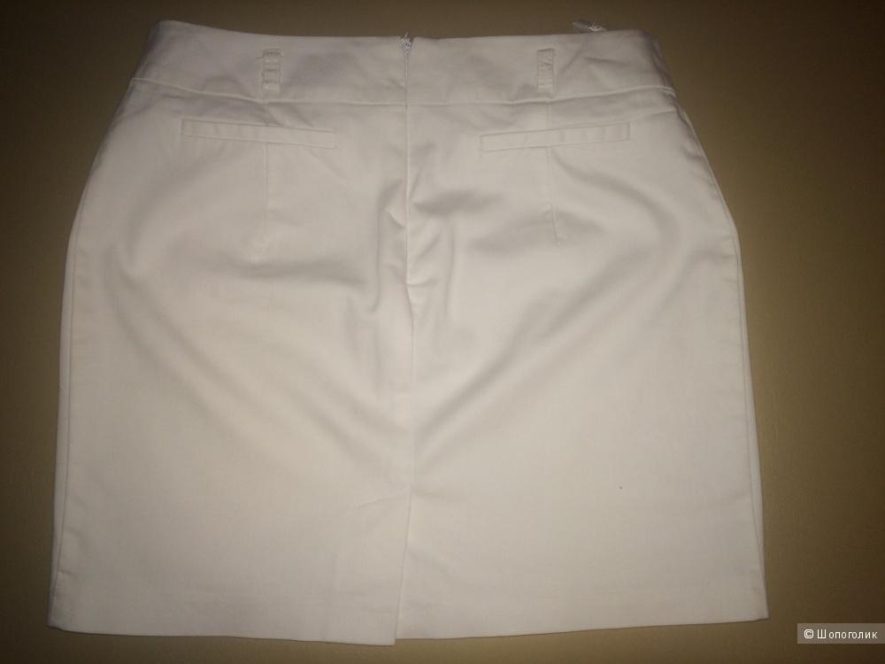 Белая юбочка, размер 44