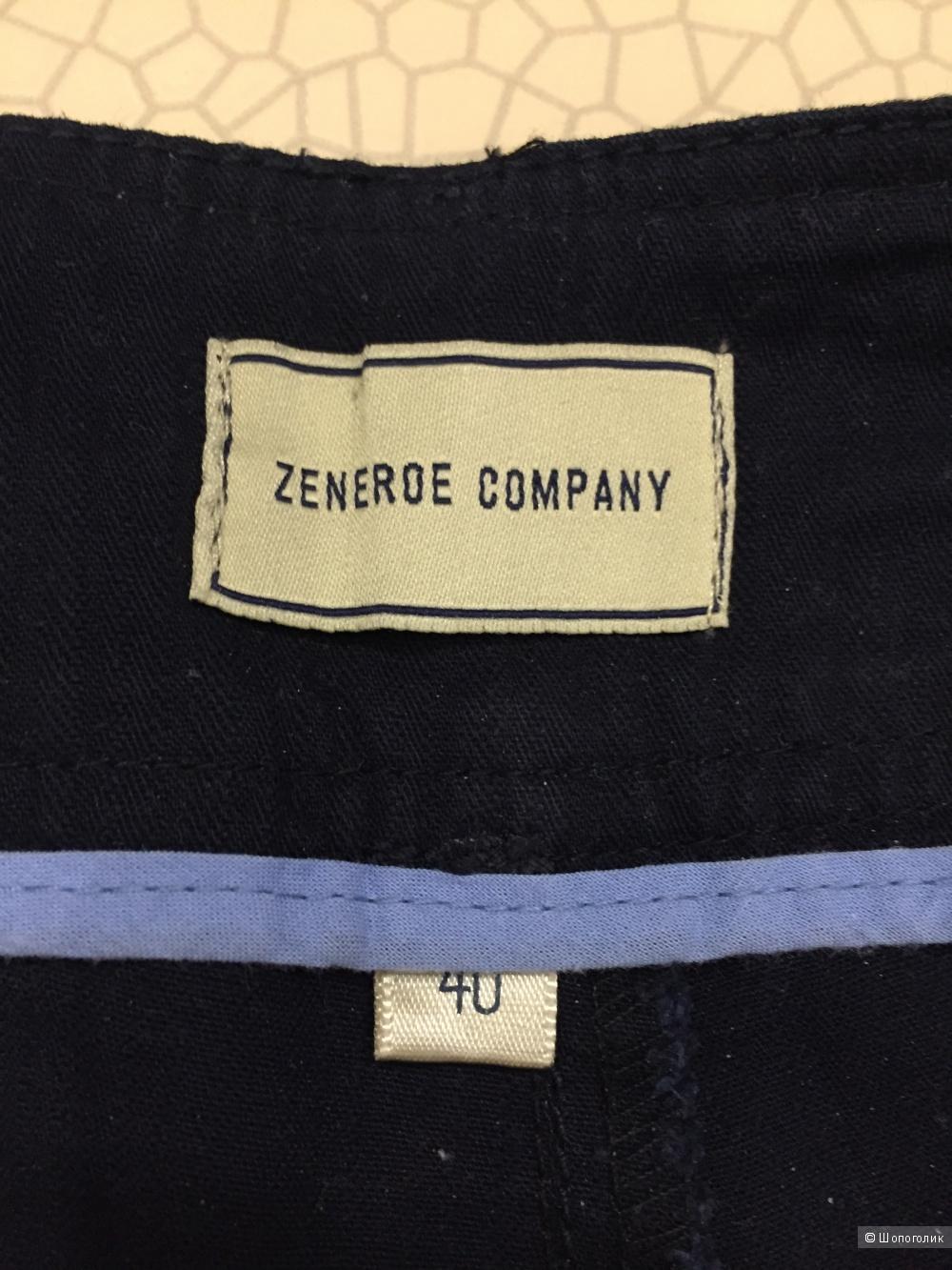 Хлопковые брюки длины 7/8, Размер EU 40