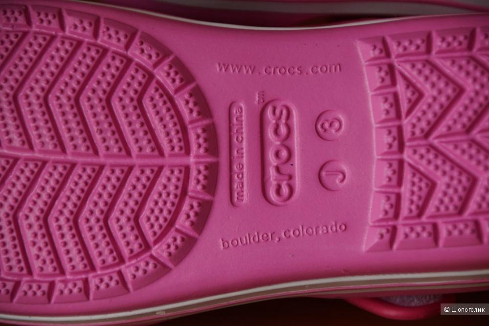 Новые сандалии Crocs 34 размер