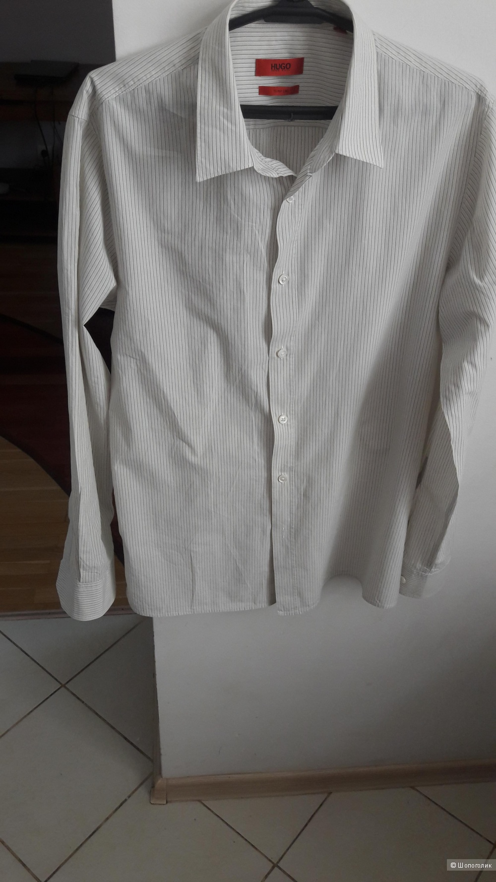 Рубашка Hugo Boss размер m slim fit