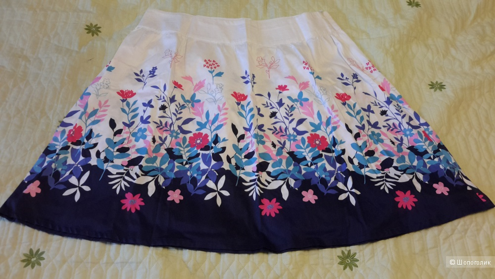 Легкая летняя юбка O'stin размер XL
