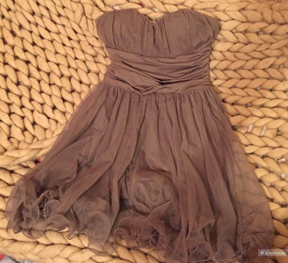 Коротенькое пышное платье kukiruki 42-44