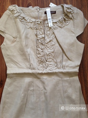 Adrienne Vittadini — дизайнерское платье из льна. Новое,оригинал. р.44