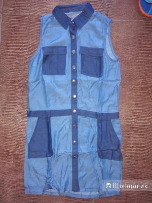 Платье под джинсу новое Mandarin р-р46.
