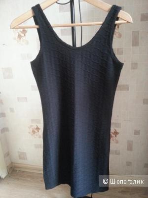 Черное платье stradivarius размер М