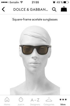 Dolce & Gabbana новые оригинальные солнцезащитные очки.