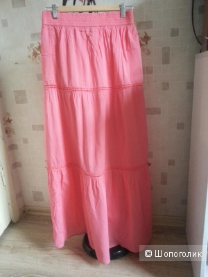 Розовая юбка stradivarius  размер М