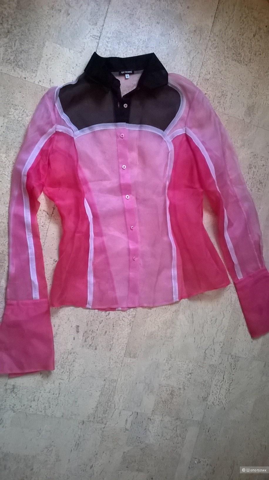 Прозрачная блузка GF FERRE размер L
