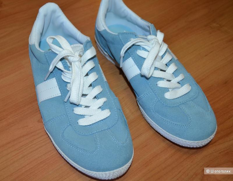 Замшевые кроссовки Аsos, 6uk (39размер)