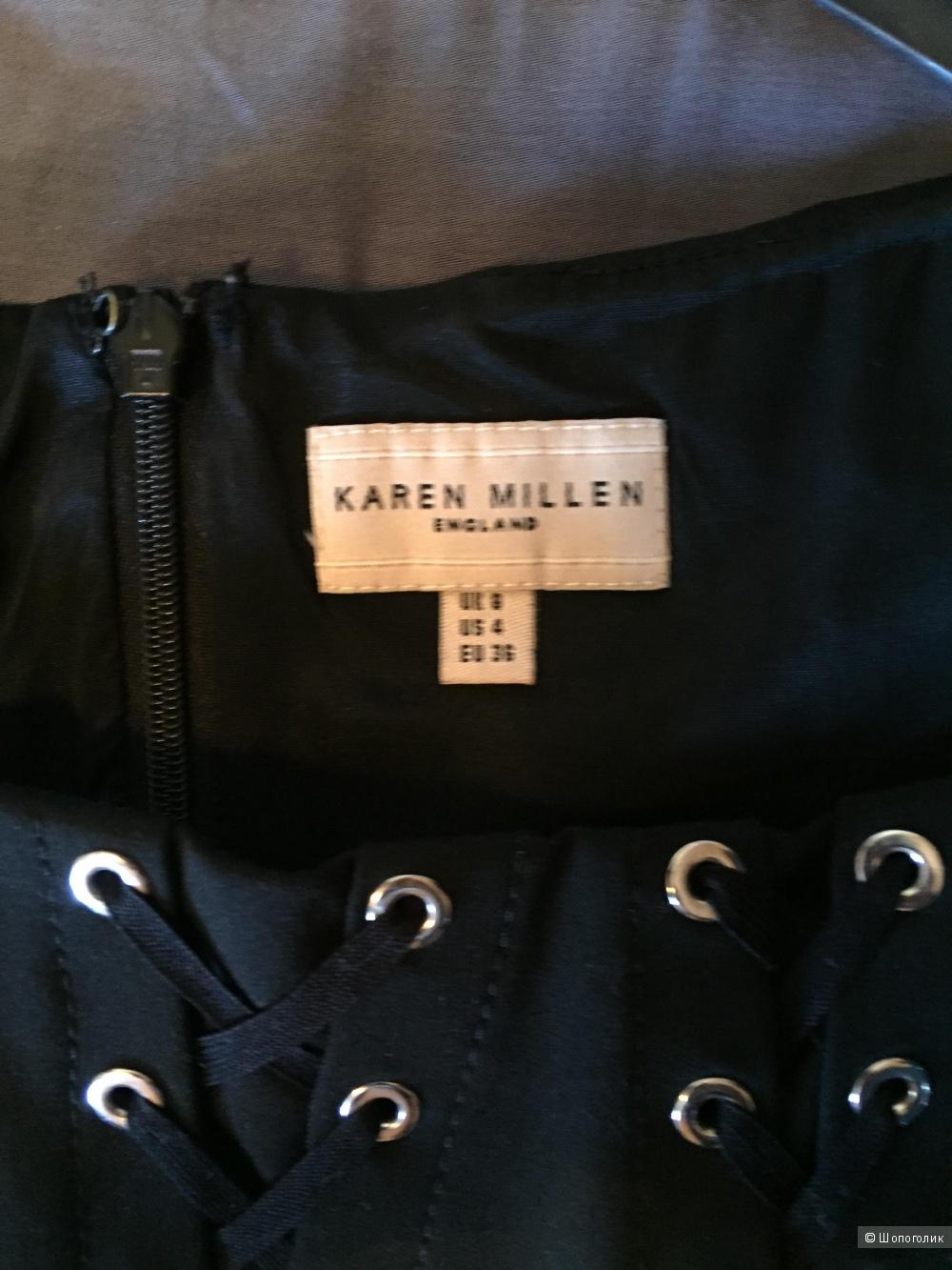 Стильное платье-футляр Karen Millen. UK8. EU36 (на 42)