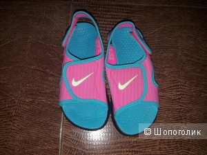 Сандалии Nike на девочку, новые, размер 29.5EU.