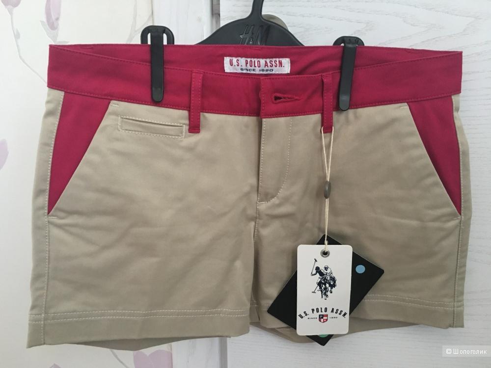Шорты женские U.S.Polo размер 28