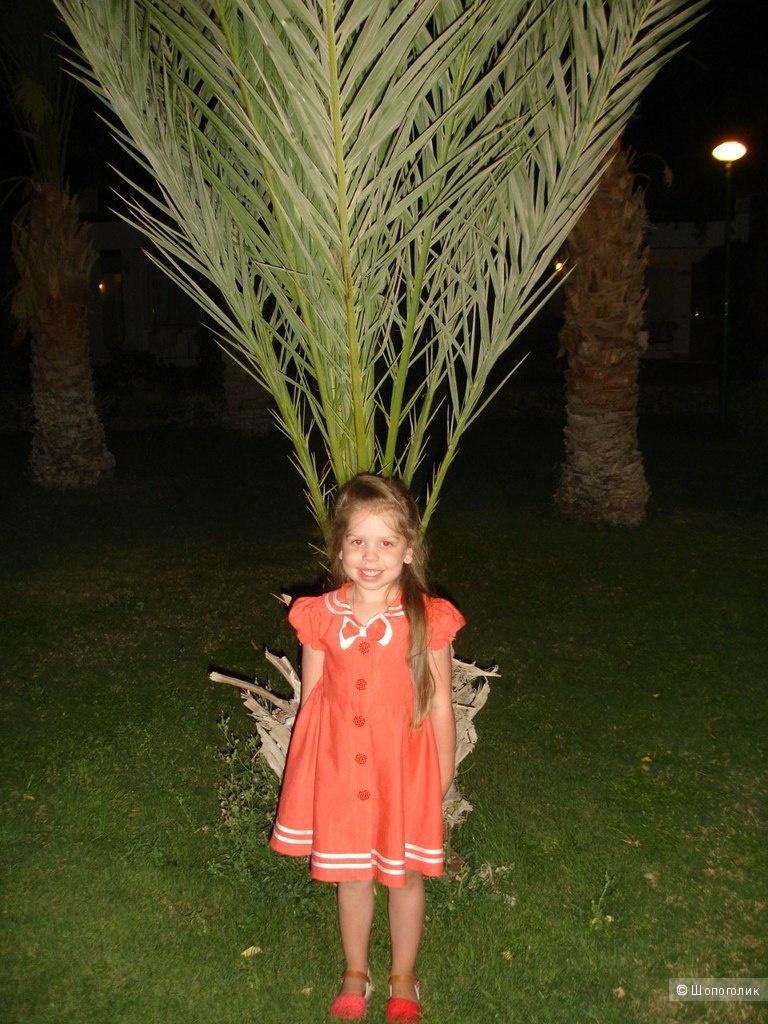 Детское платье на 4-6 лет