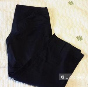 Укороченные брюки Zara черные размер 36 евро на наш 42-44