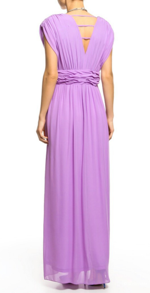 Новое платье BGN из натурального шелка