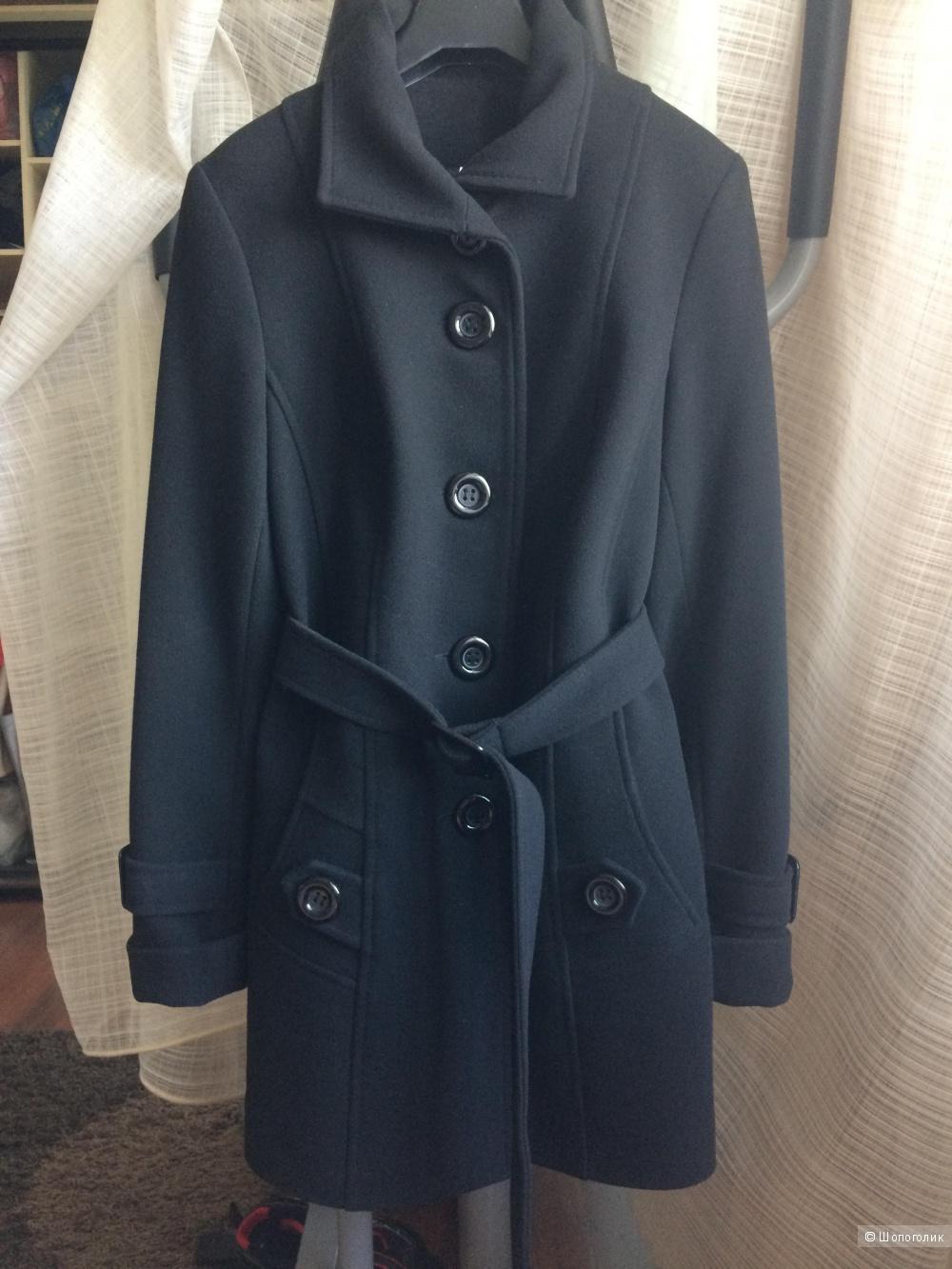 Пальто короткое классика, размер 46