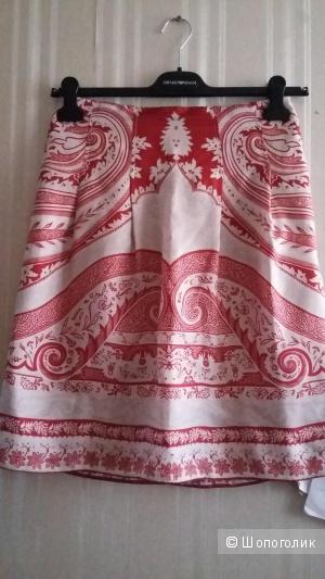 Etro шелковая юбка р.42