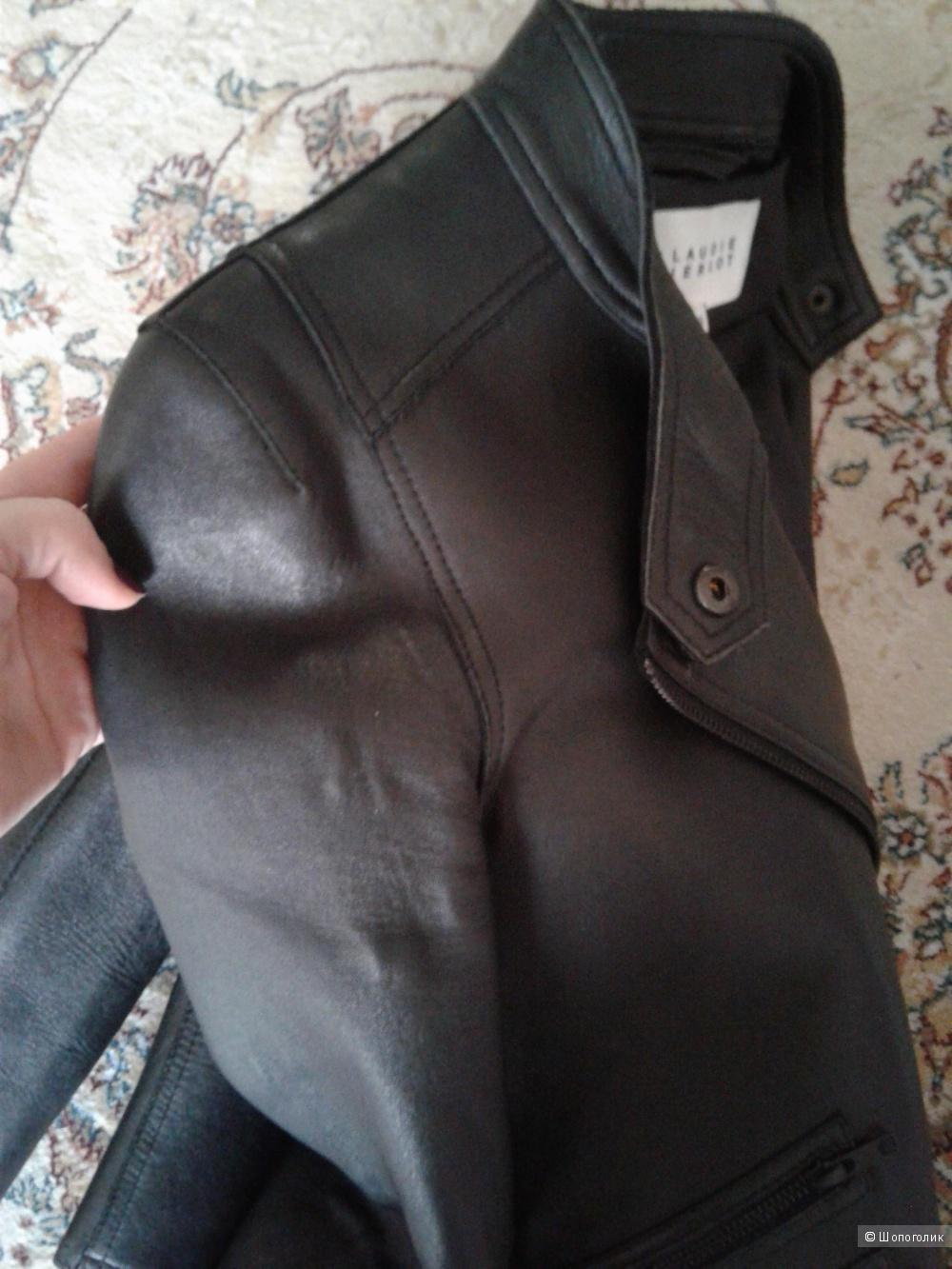 Куртка кожаная Claudia Pierlot на 44-46 размер