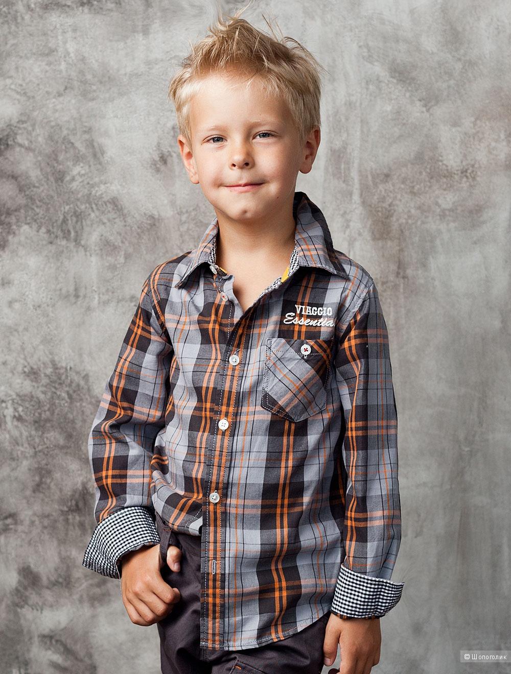 Новая рубашка на мальчика на 98-104 см