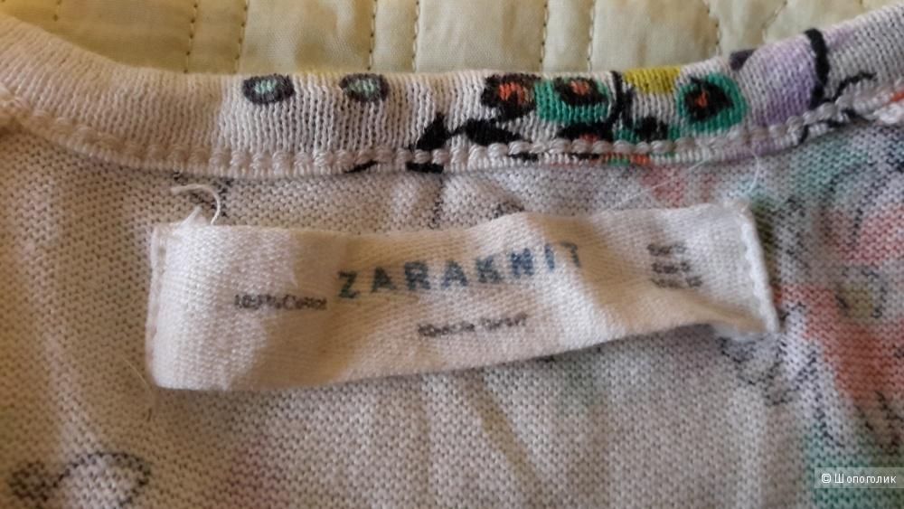 Красивая кофта Zara размер S на наш 42-44