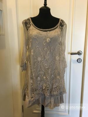 Платье летнее итальянское из двух предметов