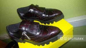 Кожаные ботинки Wil Dempster London р. 39-40