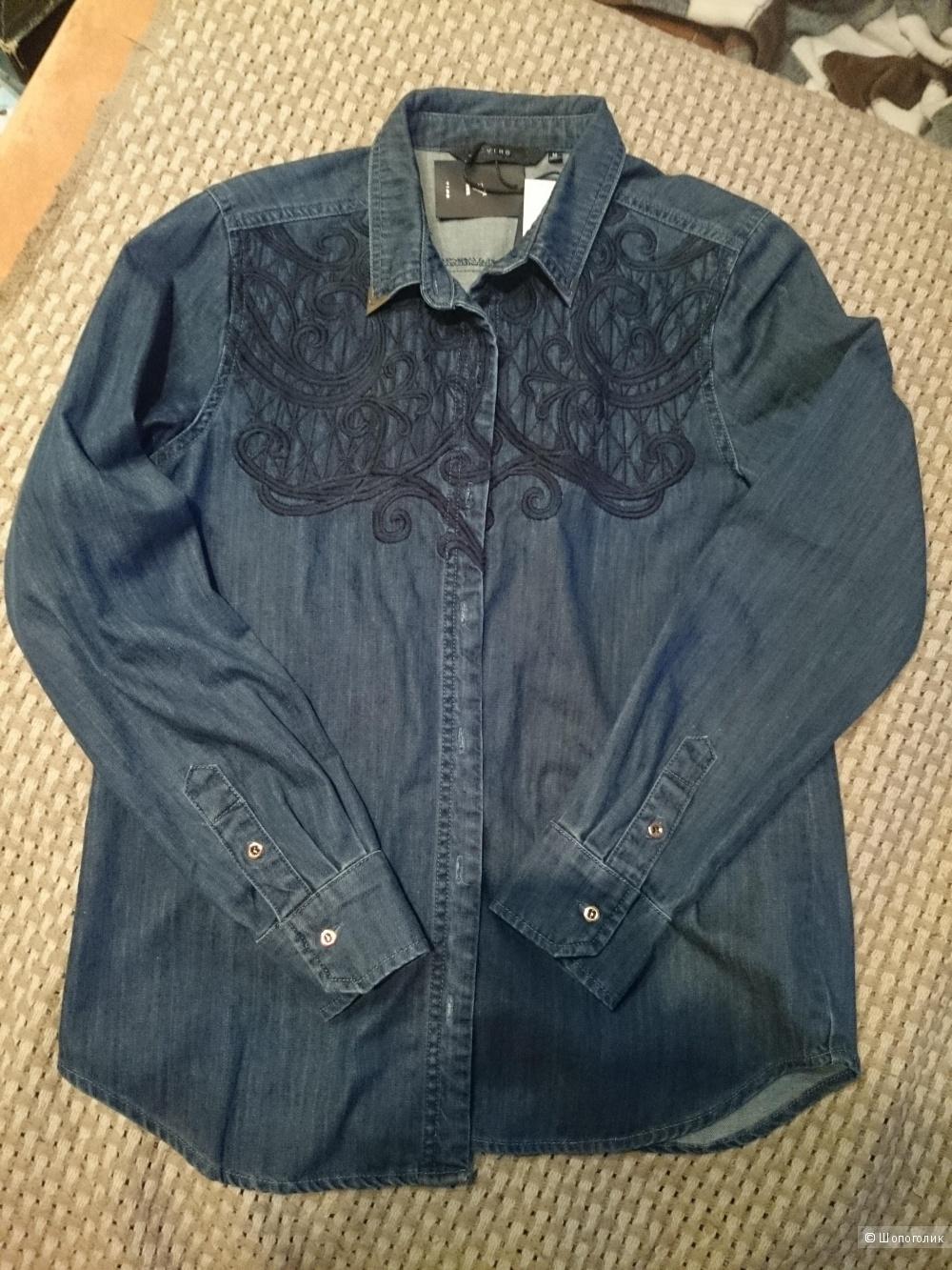 Рубашка джинсовая ,размер M