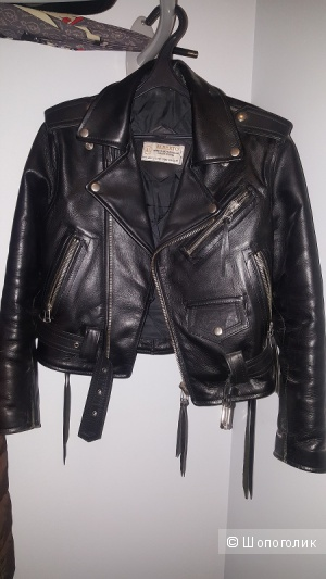 Куртка-косуха женская, нат.кожа, Alberto, б/у