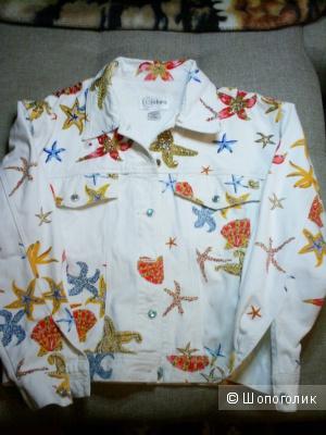 Летняя джинсовая куртка Cedars р 46-48-50.