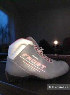 Лыжные ботинки,  38 размер.