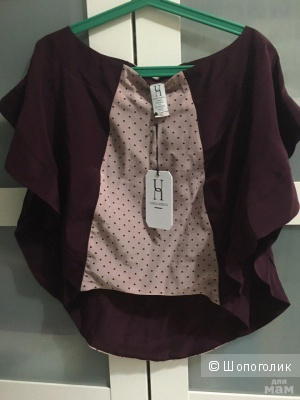 Шелковая блузка Pinko & UNIQUENESS 40it