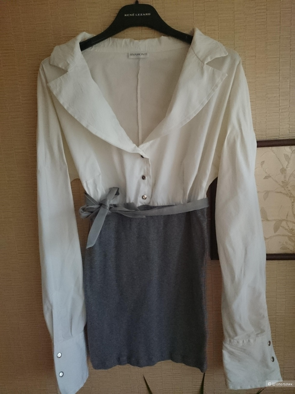 Рубашка RivaMonti, Италия, размер 42-44