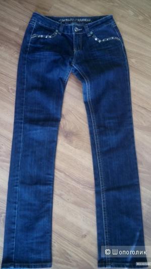 Красивые синие джинсы Monday, размер 38 европейский.